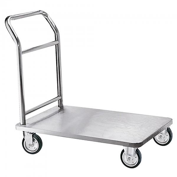 Plattformwagen - Edelstahl - Tragfähigkeit ca. 130 kg