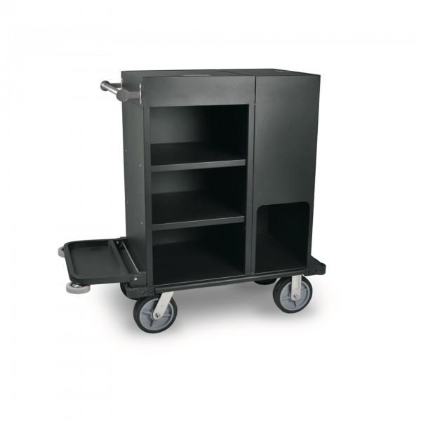 Zimmerservicewagen - Aluminium - schwarz - 4451.001