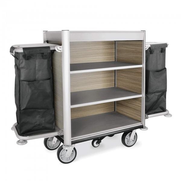 Zimmerservicewagen - Aluminium - schwarz - 4450.003