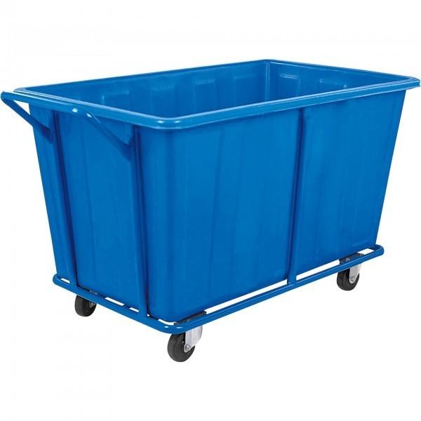 Wäschewagen - Stahl - 2 Lenkrollen