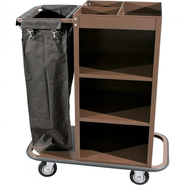 Wäschewagen - Stahlrahmen - 2 schwenkbare Rollen - extra preiswert