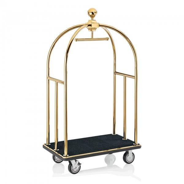 Gepäckwagen - Edelstahl - gold - 2242.002